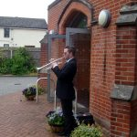 The Last Post played to honour Ron